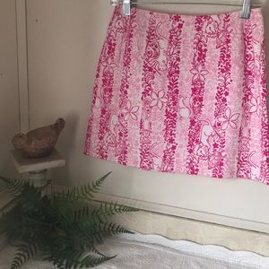 LILLY PULITZER Hawaii Floral Pencil Skirt Animals